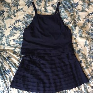 Two piece skirt and top set